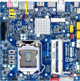 Материнская плата Gigabyte GA-B75TN rev. 1.1 LGA 1155, thin mini-ITX, Ret