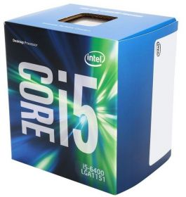 Процессор Intel Core i5-6400 Skylake (2700MHz, LGA1151, L3 6144Kb) BOX