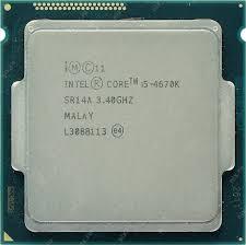 Процессор Intel Core i5-4670K Haswell (3400MHz, LGA1150, L3 6144Kb)