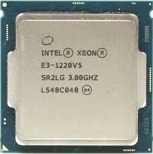Процессор Intel Xeon E3-1220V5 Skylake (3000MHz, LGA1151, L3 8192Kb)