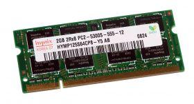 Модуль памяти  Hynix PC2-5300S 2Gb 667 Mhz  HYMP125S64CP8-Y5 AB DDR2  SO-DIMM