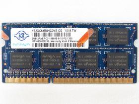 Модуль памяти Nanya  PC3-10600 DDR3-1333 SO-DIMM NT2GC64B8HCONS-CG 2GB