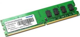 Модуль памяти  Patriot Signature 2GB DDR2 PC2-6400 PSD22G80026