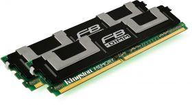 Модуль памяти  Kingston KVR667D2D4F5K2/4G 2GB 2Rx4 PC2-5300F ECC FB-DIMM CAS Latency (CL): 5 oem