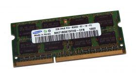 Модуль памяти Samsung  2GB 2Rx8 PC3-8500S M471B5673FH0-CF8 SO-DIM