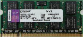 Модуль памяти Kingston PC2-6400 SO-DIMM DDR2 800MHz - 2Gb KVR800D2S6/2G