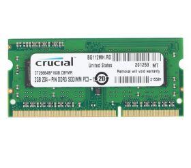 Модуль памяти Crucial DDR3L SO-DIMM 1600MHz - 2Gb CT25664BF160B