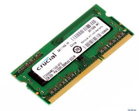 Модуль памяти Crucial SO-DIMM DDR3 1333MHz 2GB 204-PIN 256Mx64 CT25664BC1339 oem