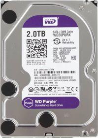 """Жёсткий диск HDD 3.5"""" 2Tb Western Digital   WD20PURZ  Purple"""