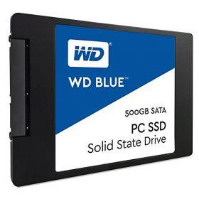 "Твердотельный диск SSD 2.5"" 500 GB Western Digital BLUE PC  WDS500G1B0A"