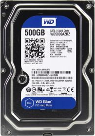 "Жесткий диск HDD 3.5"" 500Gb Western Digital WD5000AZRZ Blue"