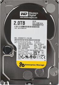 """Жесткий диск HDD 3.5"""" 2Tb Western Digital WD2000FYYZ RE"""