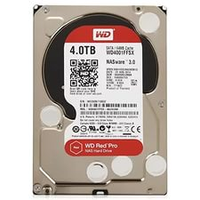 "Жесткий диск HDD 3.5"" 4Tb Western Digital WD4001FFSX Red Pro"