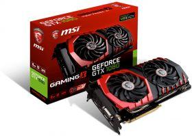 Видеокарта MSI GeForce GTX 1080 1708Mhz PCI-E 3.0 8192Mb  256 bit GTX 1080 GAMING X 8G