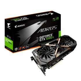 Видеокарта GIGABYTE GeForce GTX 1080 Ti 1594Mhz PCI-E 3.0 11264Mb 352 bit Aorus GV-N108TAORUS-11GD