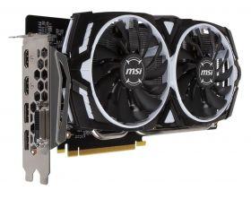 Видеокарта MSI GeForce GTX 1060 1544Mhz PCI-E 3.0 6144Mb  192 bit  ARMOR OC
