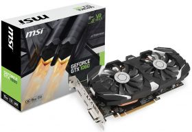 Видеокарта MSI GeForce GTX 1060 1544Mhz PCI-E 3.0 6144Mb  192 bit GTX 1060 6GT OCV1